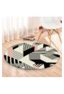 Tapete Redondo Wevans Illusion 84Cm