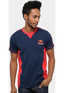 Camiseta Red Bull Sc Gives You Wings Recorte Masculina - Masculino