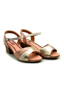 Sandalia Comfort Flex Salto Baixo - 2057404