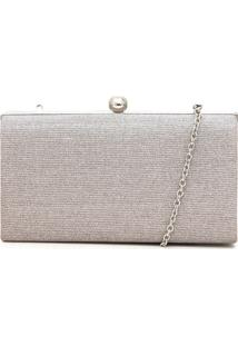 Clutch Dumond Diamond Prata