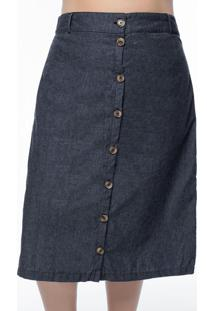 Saia Plus Size Chumbo Jeans