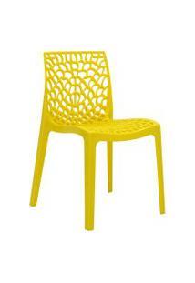Cadeira Gruv Amarela Rivatti