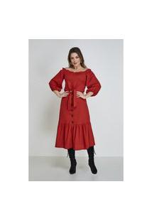 Vestido Telha Elisie Cloá