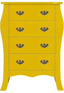 Cômoda Vitória 4 Gv Amarelo