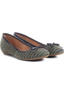 9219e0530 ... Sapatilha Shoestock Bico Redondo Laço Feminina