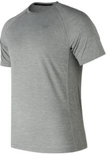 Camiseta New Balance Manga Curta Tenacity Masculino - Masculino