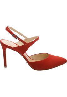 Scarpin Slingback Tango Red | Schutz