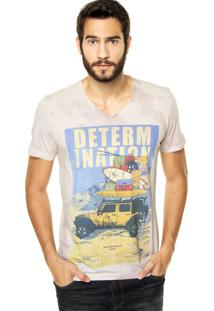 Camiseta Colcci Tie-Dye Rosa