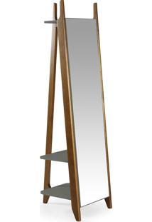 Espelho Stoka 169,5 Cm 988 Nogal/Cinza - Maxima