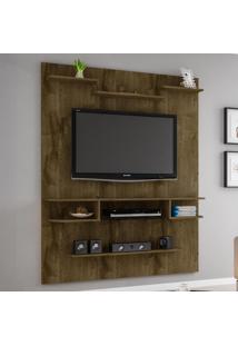 Painel Para Tv Até 55 Polegadas Sigma 2074312 Rústico - Bechara Móveis