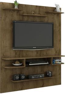 Painel Para Tv Até 55 Polegadas Sigma Rústico - Bechara Móveis