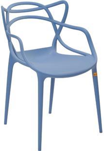 Cadeira Pp Allegra -Rivatti - Azul / Caribe