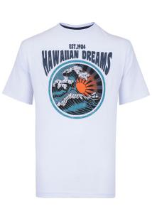 Camiseta Hd Old School 3278A - Masculina - Branco