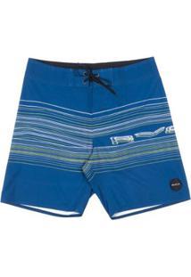 Bermuda Rvca Boardshort Neon Rvca Trunk - Masculino