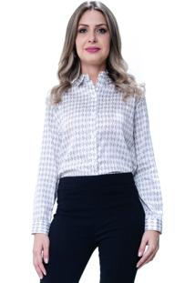 Camisa 101 Resort Wear Tricoline Gravataria Com Reguladores Off