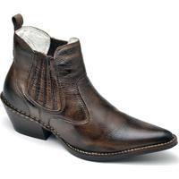 022718fbfbde3 Bota Top Franca Shoes Country - Masculino-Café