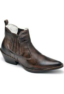 Bota Top Franca Shoes Country - Masculino-Café