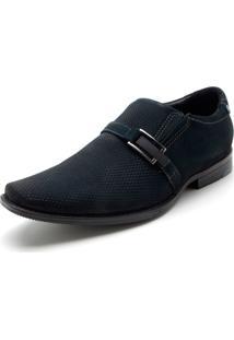 Sapato Pegada Logo Azul