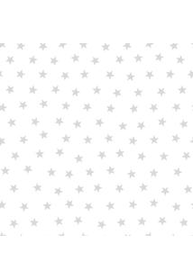 Papel De Parede Lyam Decor Estrela Prata Multicolorido