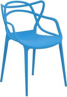 Cadeira Allegra Azul Rivatti Móveis