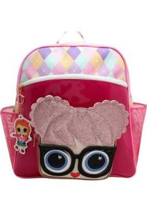 Bolsa Boneca Óculos Lolo Lorena Queiroz Feminina - Feminino-Pink