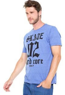 Camiseta Fatal Surf Skate Hard Core Roxa