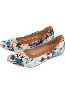 Sapatilha Alta Villa Shoes Floral
