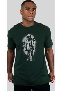 Camiseta 182Life The Astronaut Musgo