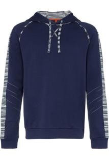 Missoni Suéter Com Acabamento De Listras - Azul