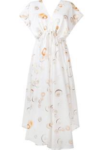 Tara Matthews Vestido Com Estampa De Conchas - Neutro