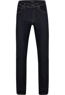 Calça Jeans Pierre Cardin Índigo Soft Azul