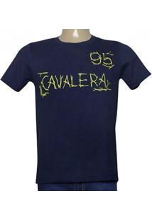 Camiseta Masc Cavalera Clothing 01.20.0016 Azul Petroleo