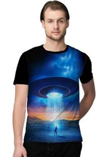 Camiseta Stompy Psicodelica6 Masculina - Masculino-Preto