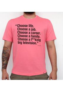 Choose Life - Camiseta Clássica Masculina