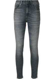 John John Calça Jeans Skinny - Cinza