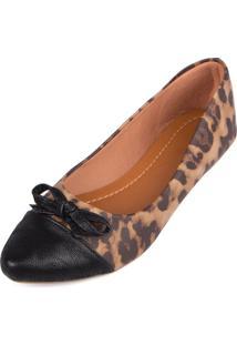 Sapatilha Trivalle Shoes Onca Com Laco