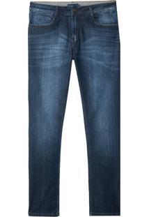 Calça Dudalina Jeans Dark Blue Masculina (Jeans Escuro, 48)
