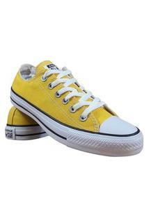 Tênis Converse All Star Chuck Taylor Amarelo Preto Branco