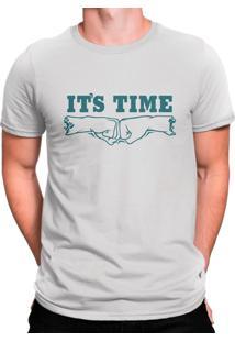 Camiseta Manga Curta Los Panas It'S Time Branca