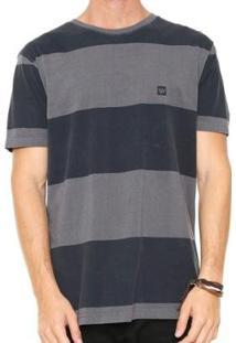 Camiseta Hang Loose Especial Blockstripe - Masculino