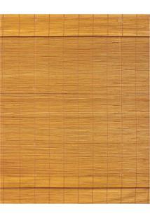 Persiana Soho Romana Bambu 80X140 - Evolux - Ambar