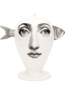 Fornasetti Vaso 'Bollywood Fish' - Branco