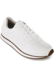 Tênis Jogging Via Marte 1716501 - Feminino-Branco