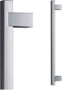 Puxador Para Porta Em Alumínio Concept Pca06 30Cm Polido