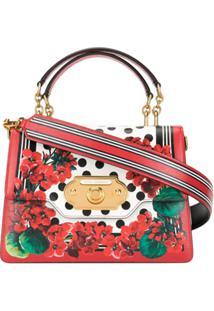 Dolce & Gabbana Bolsa Tiracolo Welcome - Vermelho