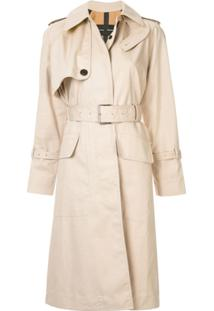 Proenza Schouler Trench Coat Oversized - Neutro