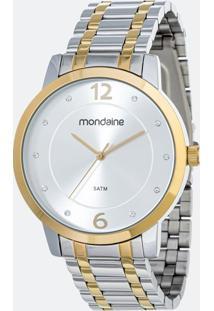 Kit Relógio Feminino Mondaine 83467Lpmvbe4K Analógico 5Atm + Pulseira