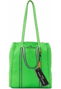 Marc Jacobs Bolsa Tote Com Tag - Verde