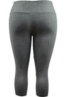 Calça Corsário Supplex Plus Size Best Fit - Feminino