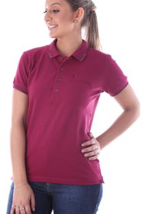 Camisa Polo Cp0720 Regular Traymon Bordo